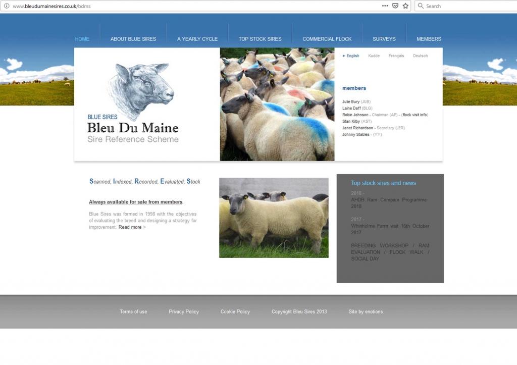 Bleu Du Maine Society